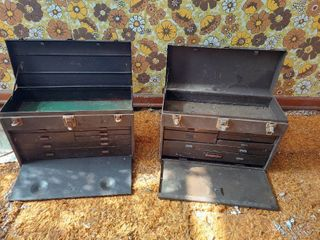 2  Machinists Toolbox   Craftsman and Kennedy