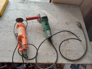 Angle Grinder and Cutout Tool