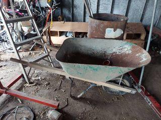 Wheelbarrow   Needs Tire