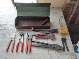 Toolbox with Crimpers