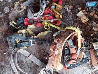 Pile of Straps and Harness   Age Unknown