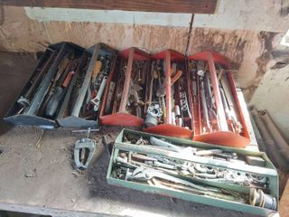 6 Tool Trays with Contents