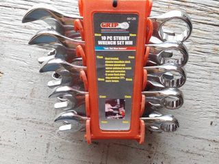 Stubby Metric Wrench 10 Piece Set 10mm   19mm