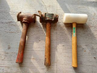 Rawhide Hammers and Mallet