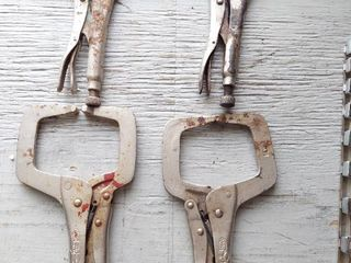 4  Vise Grip locking Pliers   11R