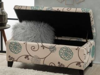 Breanna Upholstered Storage Ottoman