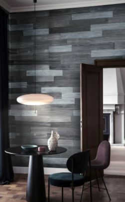 3D Reclaimed Rectangular DIY Peel and Stick Mixed Grey Wood Panels Plank Decor 10 Panels   16sqft Per Box  Retail 89 99  2 Boxes  10 in each