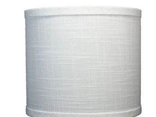 Classic Drum linen lamp Shade 8 in  to 16 in  Bottom Size