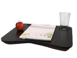 large Wood lap Desk with luxury Foam Cushion Cherry Wood