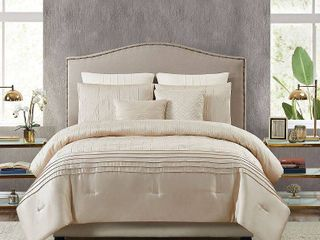 5th Avenue lux Noelle 7 Piece King Bedding Set Bedding