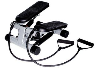 Sunny Health  amp  Fitness Mini Stepper With Resistance Band