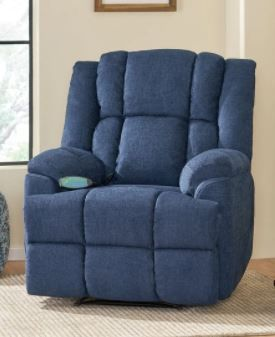 Blackshear Indoor Pillow Tufted Massage Recliner by Christopher Knight Home  Retail 519 99