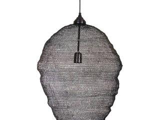 Hivly 1 light Pendant Black   Kenroy Home