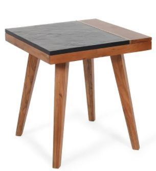 Carson Carrington Chester Solid Wood Caspian Square End Table
