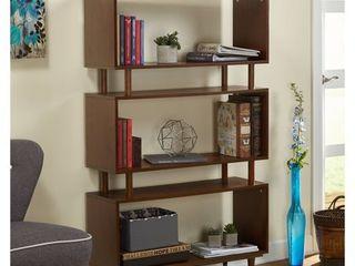 TMS Mid Century Bookshelf