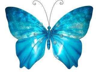 Butterfly Wall Decor in Sea Blue