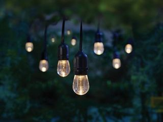 Home Decorators Collection 12 light 24 ft  Integrated lED String light with Color Changing Bulbs