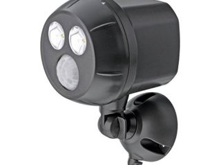 Mr Beams Outdoor UltraBright 450 lumen Battery Powered Motion Activated Integrated lED Spotlight  Brown