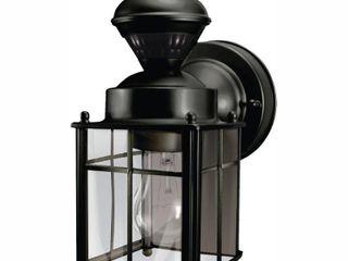Heath Zenith Sl 4132 BK 150 Degree Bayside Mission Style Motion Sensing Decorative Security lantern  Black