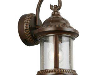 Home Decorators Collection Bronze Motion Sensor Outdoor Wall Mount Coach light Sconce