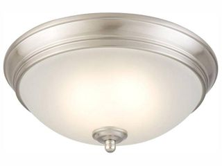 Commercial Electric 11 inch Ceiling light  Brushed Nickel
