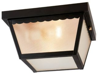 Exterior Ceiling light   Black