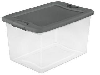 64 Qt  latching Box by Sterilite