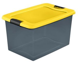 64Qt  latching Box in Gray Tint by HDX