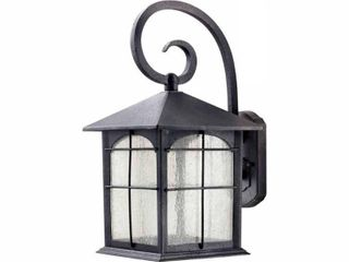 Home Decorators Collection Aged Iron Outdoor lED Wall lantern Sconce