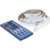 lED Reel Tape light  RGBW Colors  IR Wireless Remote Control  12 FT 4 Pack