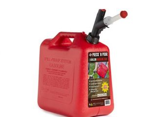 GarageBOSS Press  N Pour 5 Gallon Gas Can