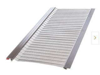 Gutter Guard by Gutterglove4 ft  l x 5 5in  W Stainless Steel Micro Mesh Gutter Guard  20