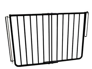 Cardinal Gates Outdoor Stairway Safety Gate  27 42 5 W x 29 5 H  Black