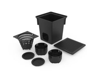 RElN 10 in  W x 10 in  l x 12 in  H Catch Basin Kit  Black