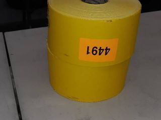 2 Rolls  Yellow Pre Printed labels by RR Donnelly