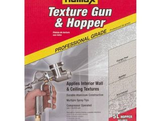 USED Homax Pro Gun and Hopper for Spray Texture Repair