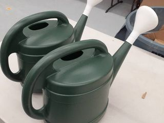 2  2gal Watering can Green