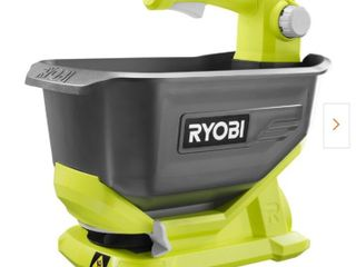 RYOBIONE  1 Gal  18 Volt lithium Ion Spreader   Battery and Charger Not Included