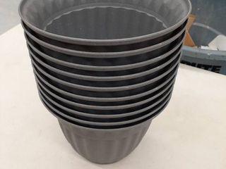 10  7 5 planters Grey