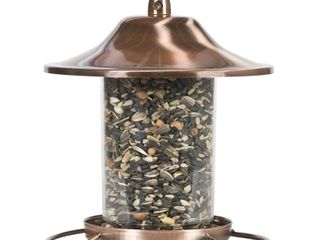 Perky Pet 2 lb Copper Panorama Bird Feeder