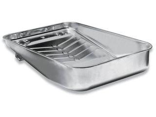 Wooster Brush R405 13 Hefty Deep Well Metal Tray  13 Inch