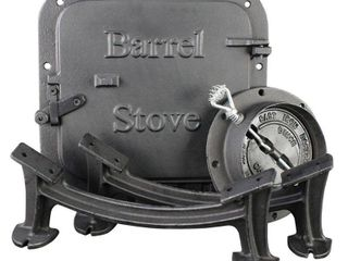 BSK1000 Barrel Camp Stove Kit