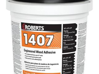 ROBERTS 1407 1 Engineered Wood Flooring Adhesive 1 gal