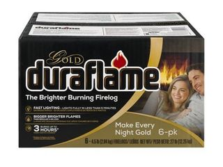 Duraflame Gold Ultra Premium 4 5lb Firelogs  6 pack Case  3 Hour Burn