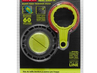 RYOBI REEl EASY  Bump Feed String Head with Speed Winder