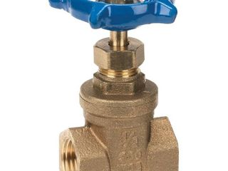 3 Everbilt 1 1 2 in  Brass FIP x FIP Gate Valve