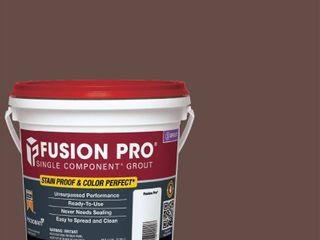 8  Custom Building Products Fusion Pro  95 Sable Brown 1 Gal  Single Component Grout