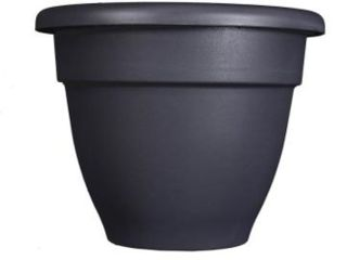 30 Black Plastic Planter with Removable Drain Plug  Model  CNA08000G18