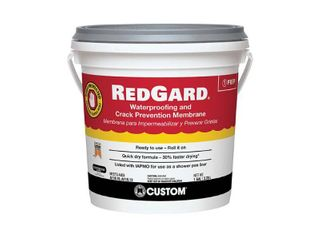 4  Custom Building Products  lQWAF1 2 One Gallon Redgard WTRproofing