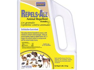 2  Bonide 2361 Repel Granules Animal Repellent  3 Pound USED